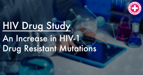 An Increase in HIV-1 Drug Resistant Mutations