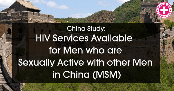 Study: HIV Services Available for Men who are Sexually Active with other Men in China (MSM)