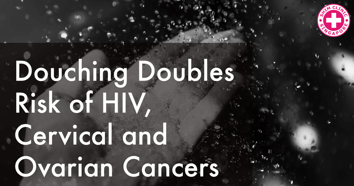 Douching Doubles Risk of HIV, Cervical and Ovarian Cancers