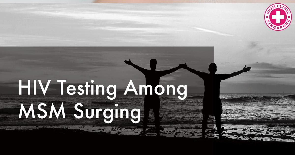 HIV Testing Among MSM Surging