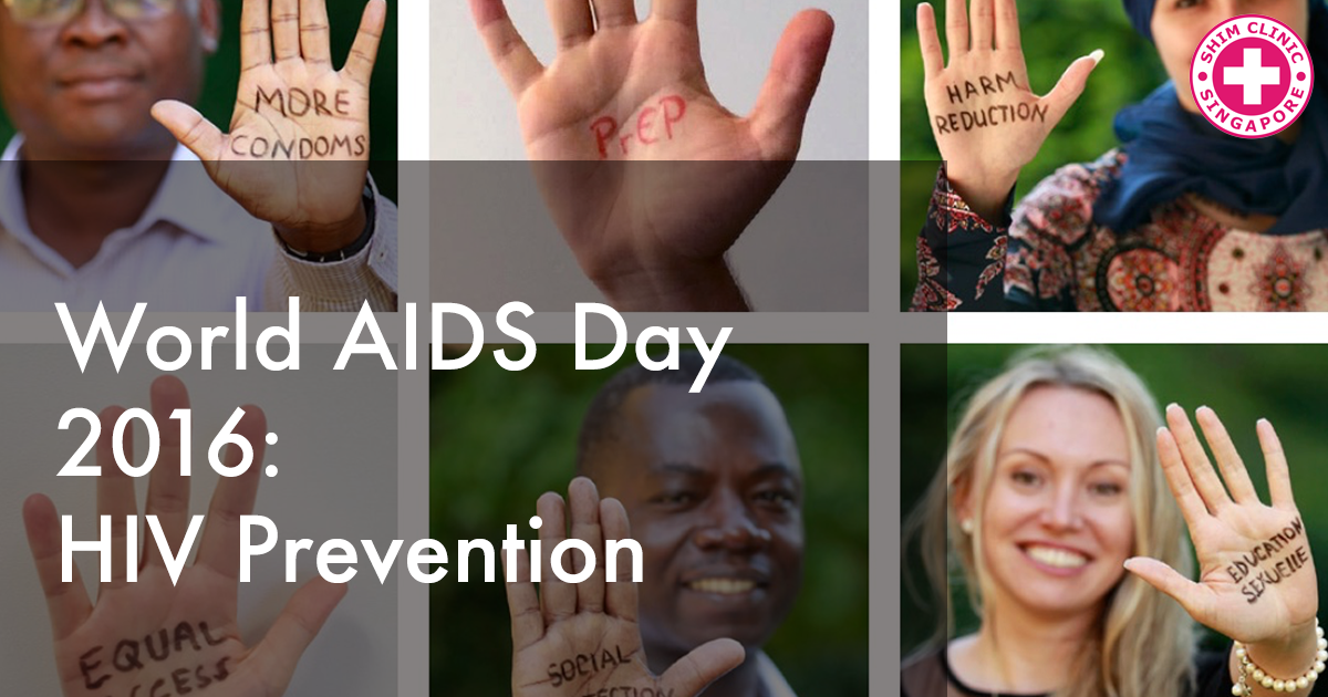 World AIDS Day 2016: HIV Prevention