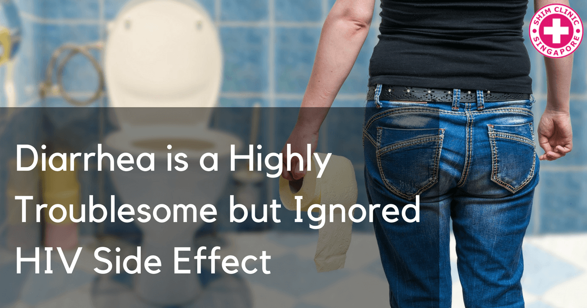 Diarrhea is a Highly Troublesome but Ignored HIV Side Effect