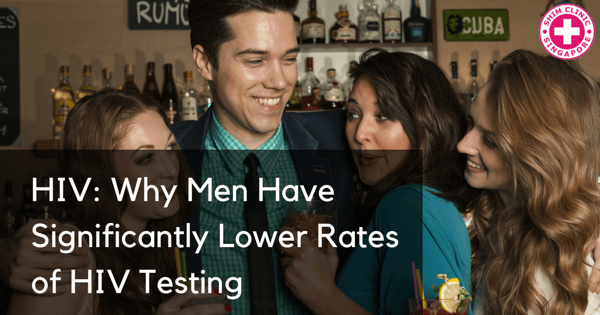 HIV: Why Men Have Significantly Lower Rates of HIV Testing