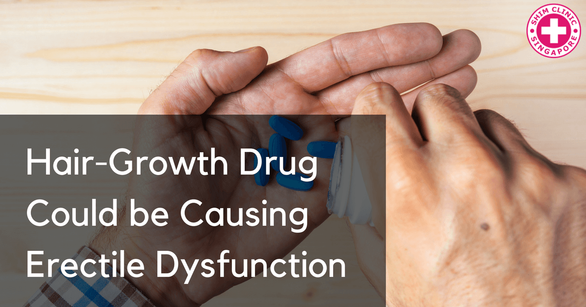Hair-Growth Drug Could be Causing Erectile Dysfunction