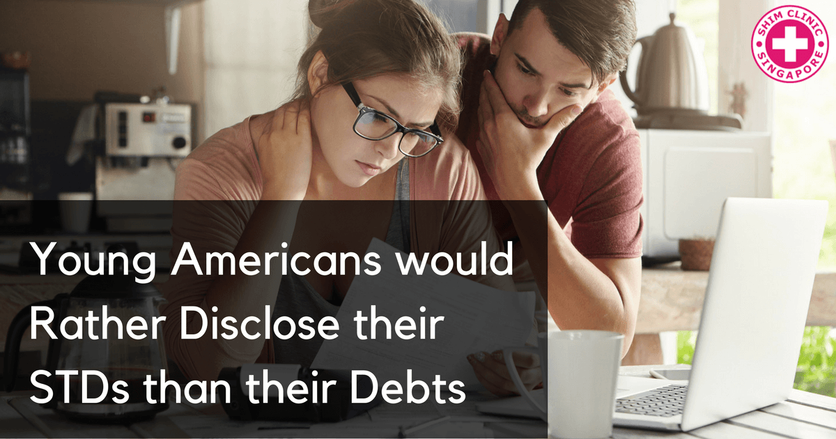 Young Americans would Rather Disclose their STDs than their Debts