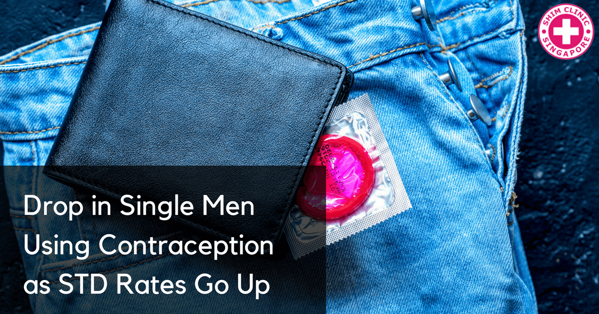 Drop in Single Men Using Contraception as STD Rates Go Up